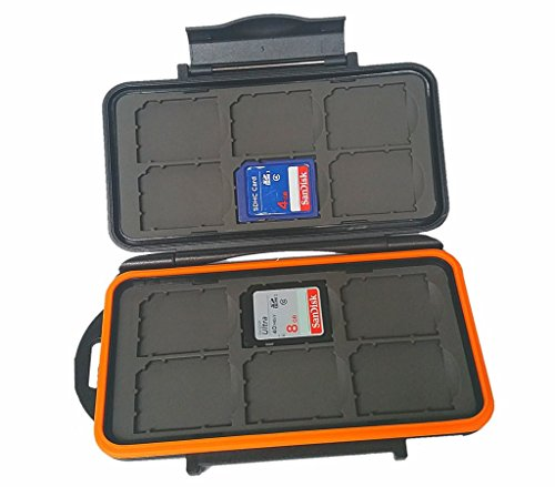 BoneView Weather-Resistant Storage Case for Trail Camera SD Memory Cards