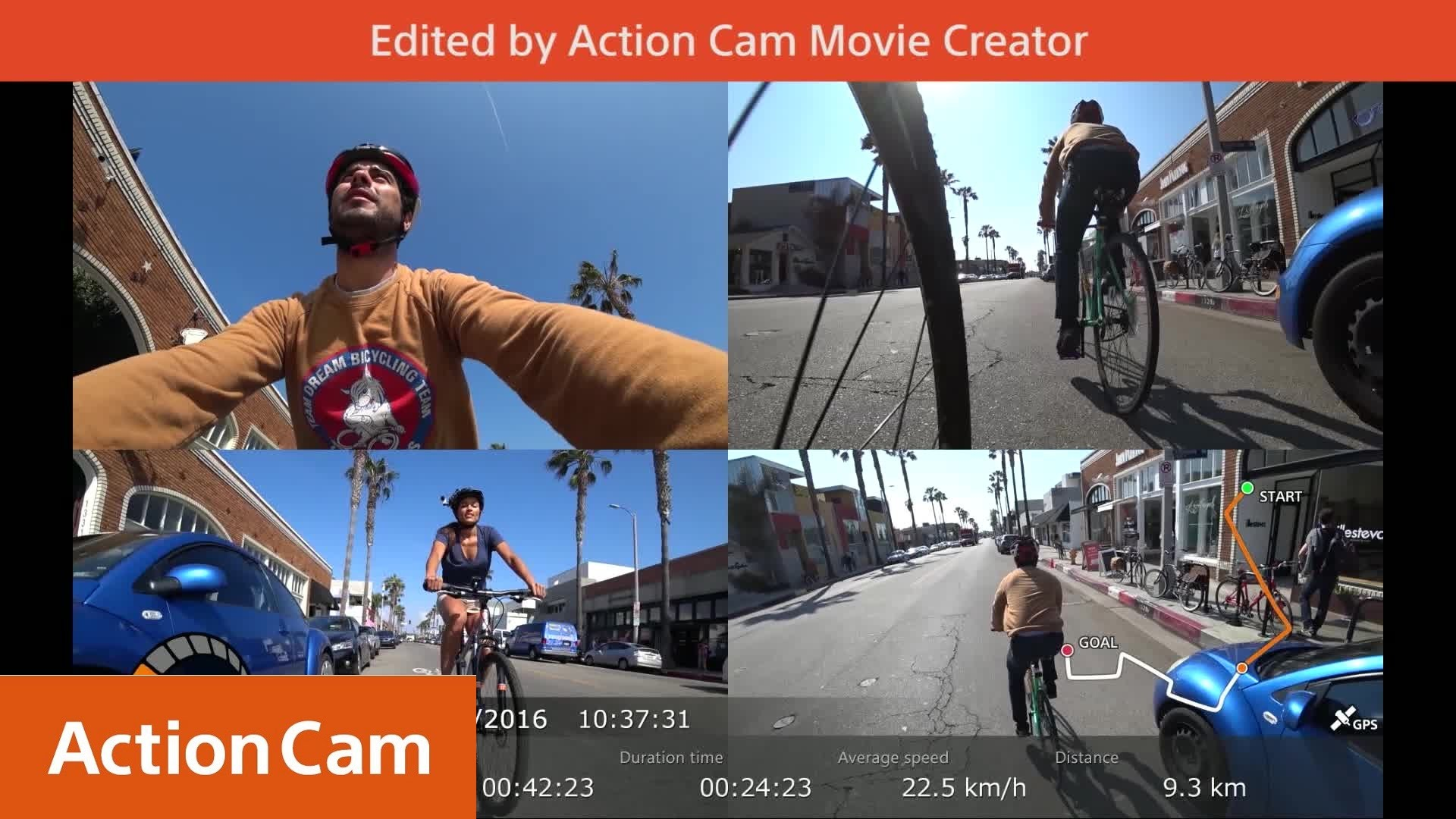 Action Cam | Action Cam Movie Creator for more post-shooting fun | Sony