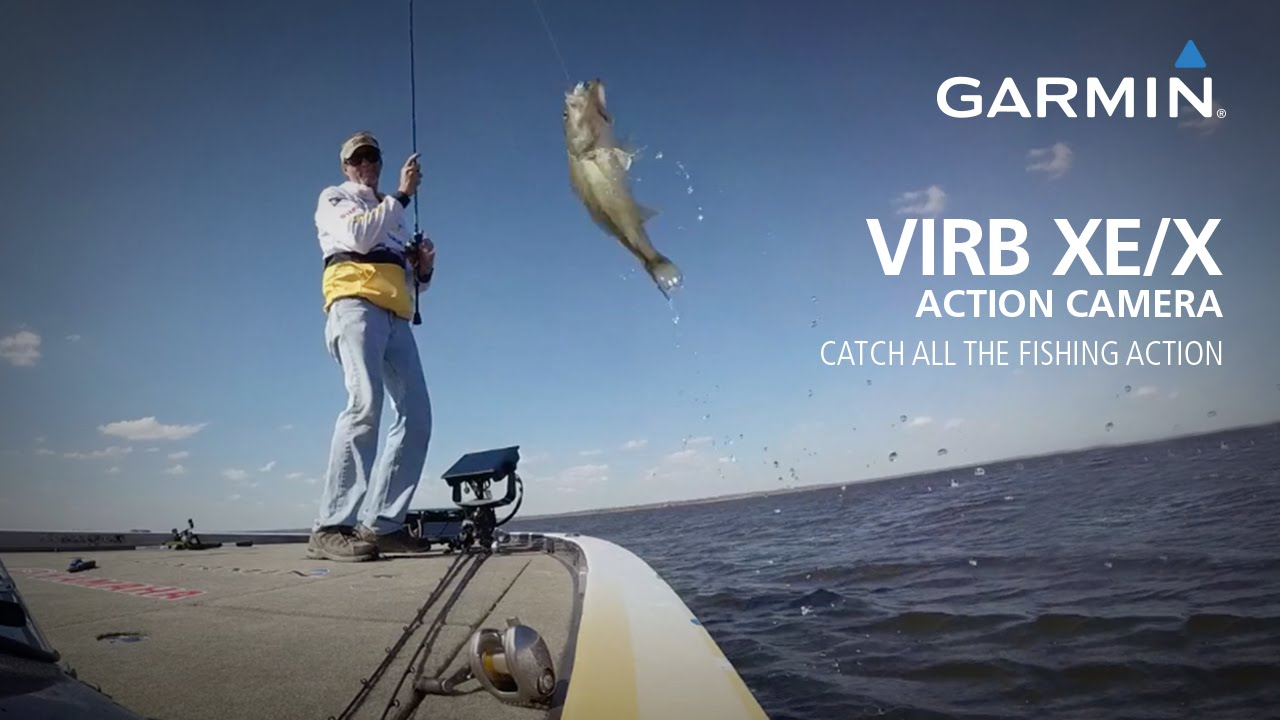 Garmin VIRB XE/X action cameras: Catch all the fishing action