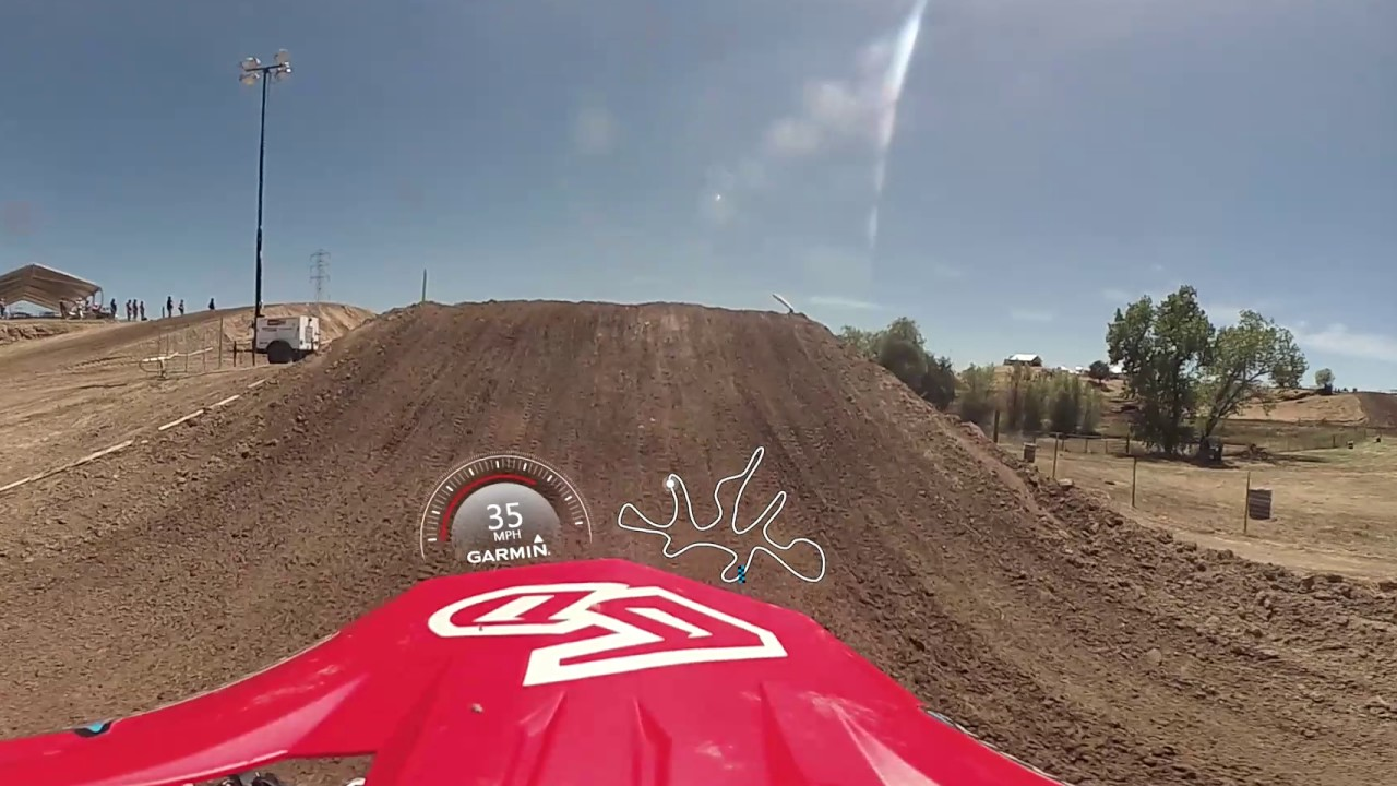 Garmin VIRB 360: Hangtown MX Practice lap with Pro Jeremy Martin