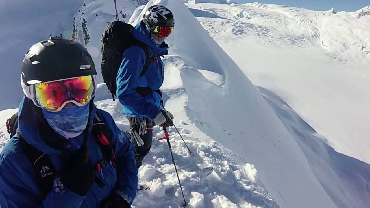 Garmin VIRB: Backcountry skiing with Points North Heli Tours