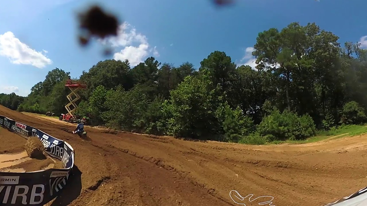 Garmin VIRB 360: Budds Creek 1st Moto with Jeremy Martin