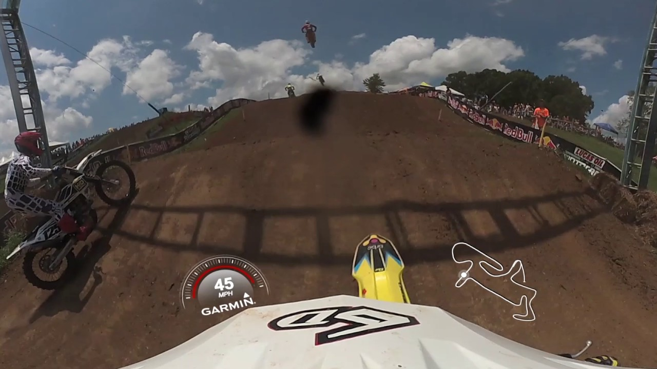 Garmin VIRB 360: Muddy Creek Moto with Pro Ronnie Stewart
