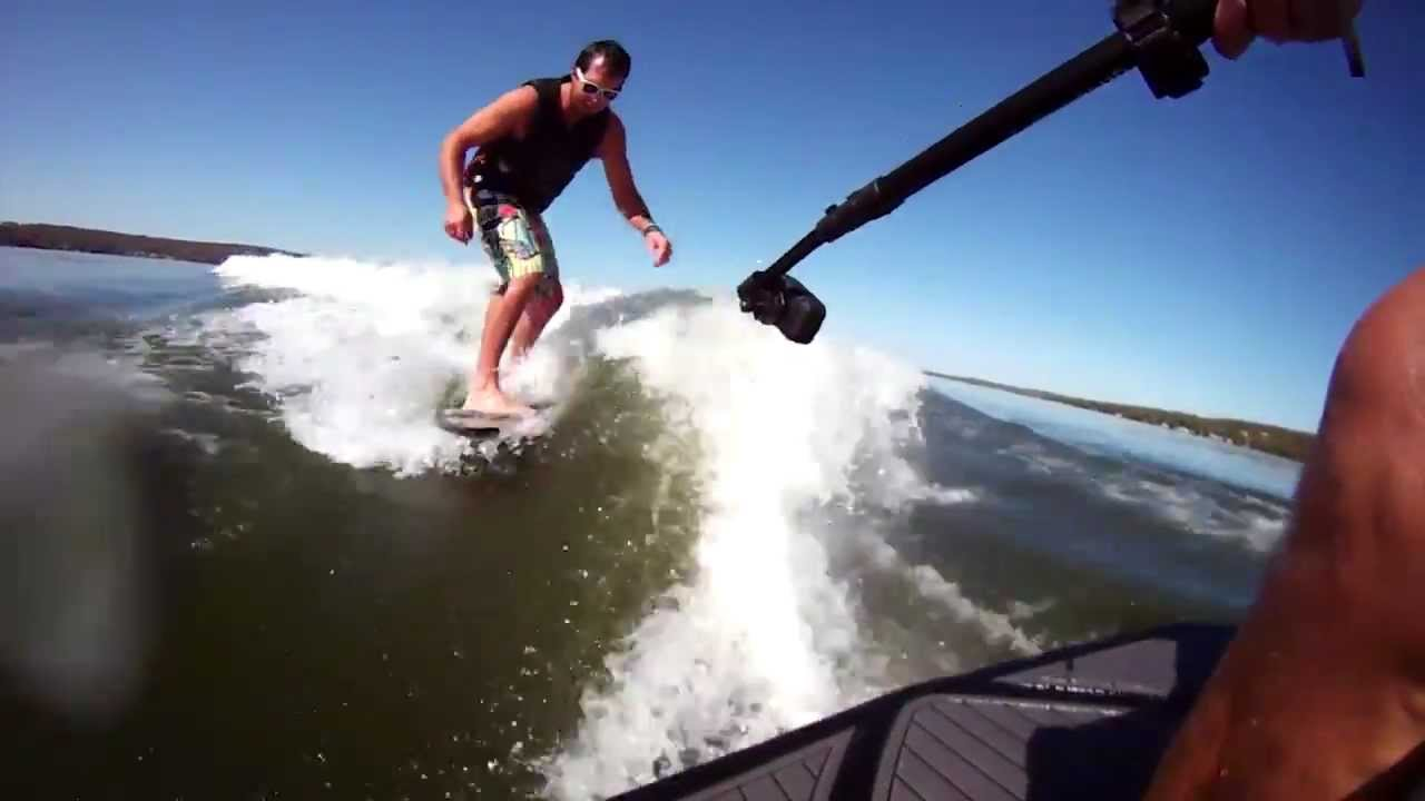 Wake Surfing with the Drift HD