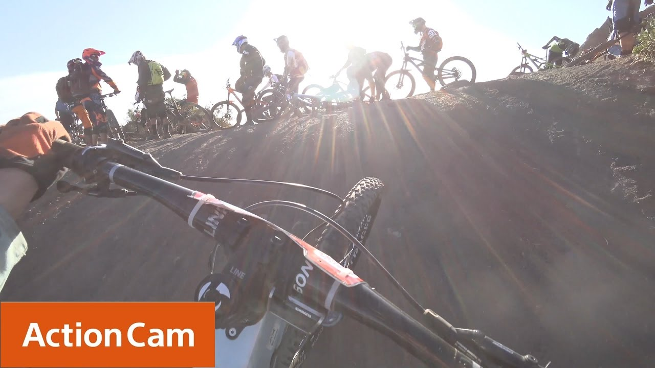 Action Cam   Casey Brown's Race in 4K!   Sony