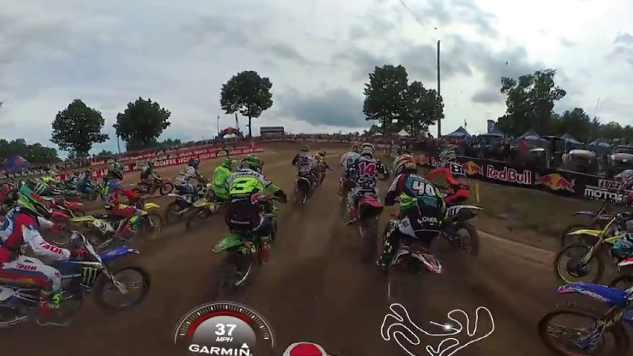Garmin VIRB 360: Southwick MX with Pro Christian Craig
