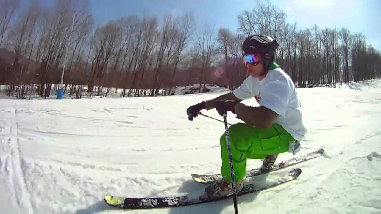 Skiing and Snowboarding with the Drift HD170 Stealth