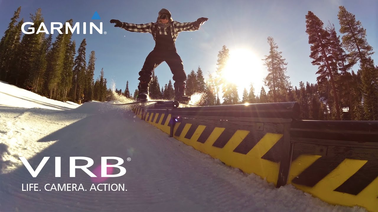 Garmin VIRB: Snowboarding at Northstar