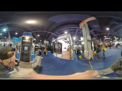 CES 2018 – Full South Hall Walkthrough in 360!