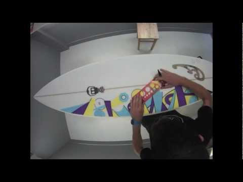 Drift HD Timelapse Surfboard Art