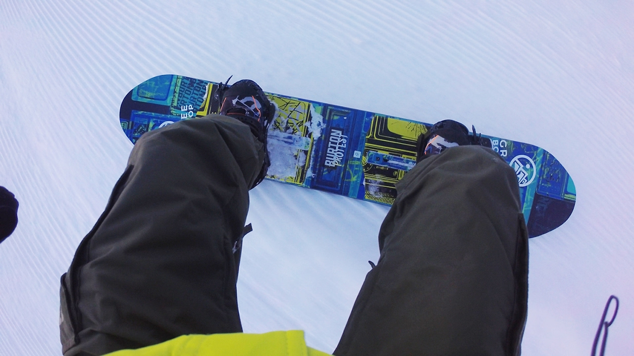Garmin VIRB Ultra 30: Snowboarding with Brett Powell