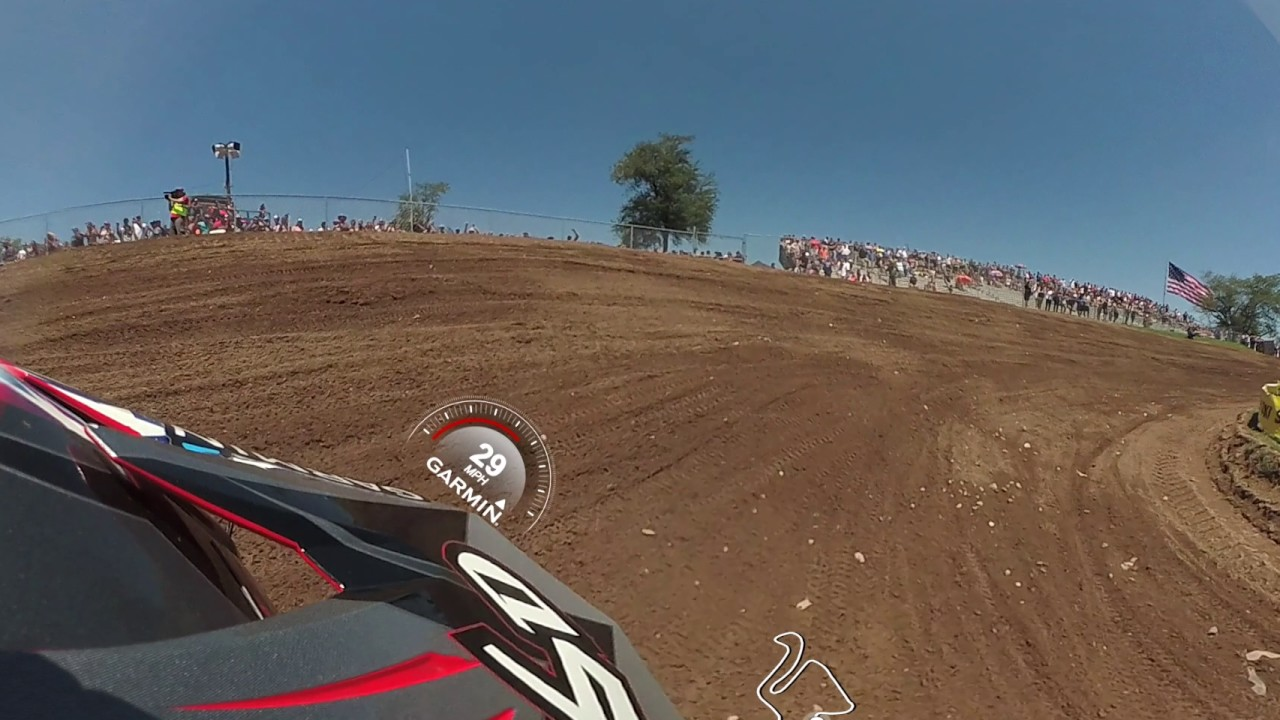 Garmin VIRB 360: Red Bud MX Moto with Pro Jeremy Martin
