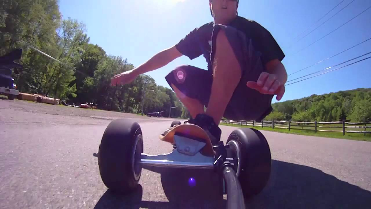 Carveboarding POV with the Drift HD170 Stealth Camera