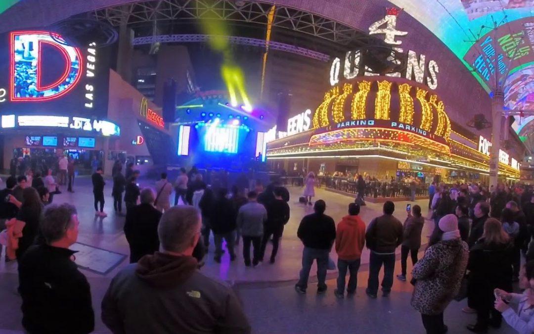 CES 2018 – Fremont Street – Old Vegas in FULL 360