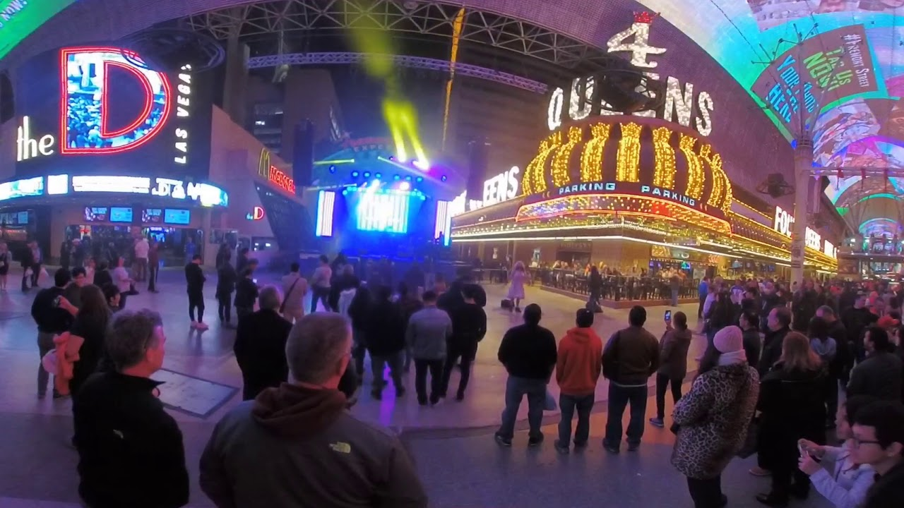 CES 2018 – Fremont Street – Old Vegas in FULL 360