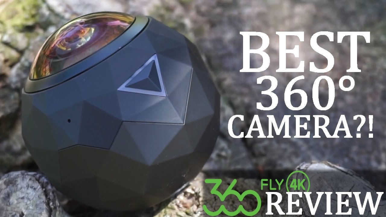 BEST 360° CAMERA?! 360FLY 4K CAMERA REVIEW | DansTube.TV