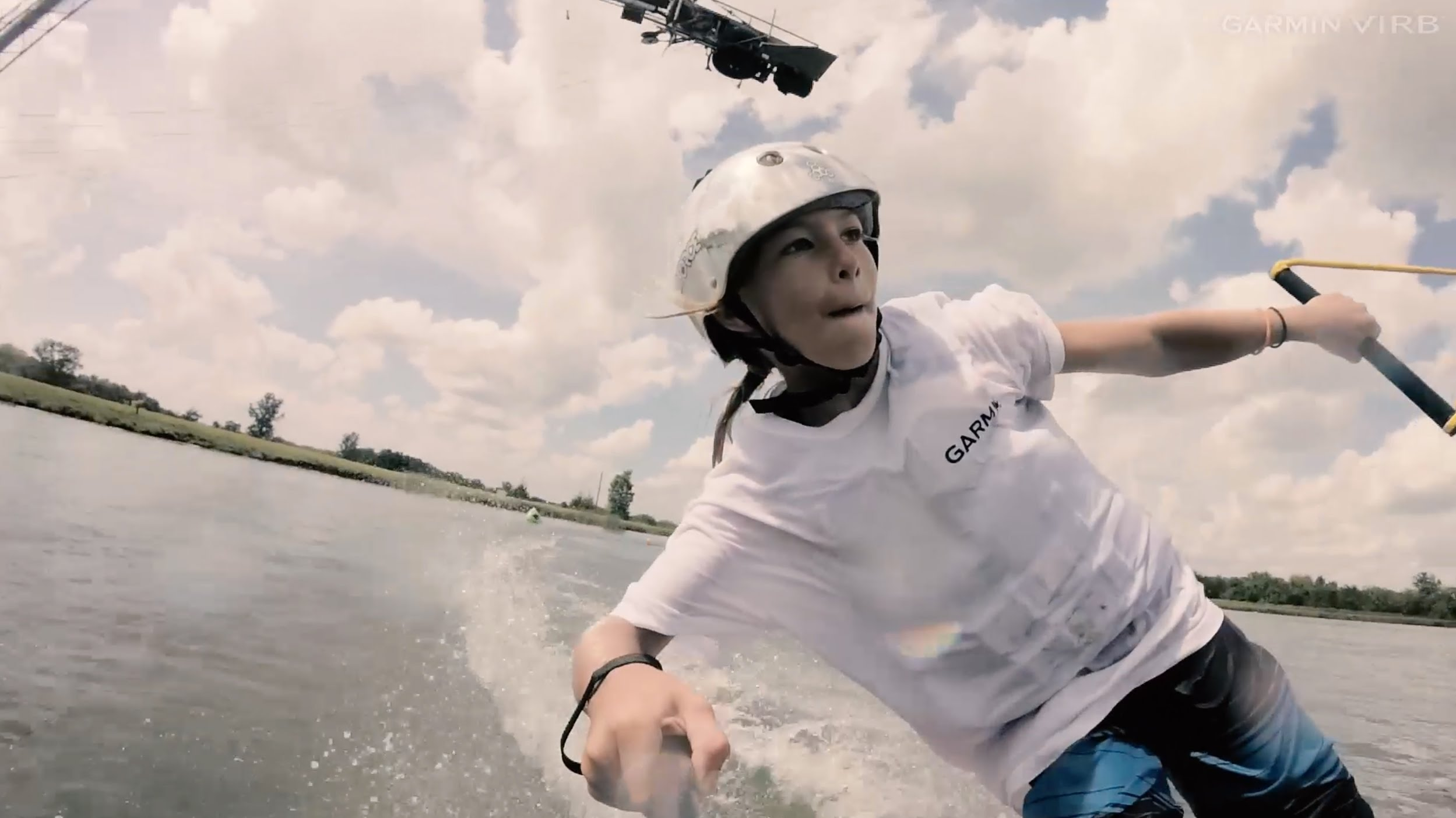 Garmin VIRB XE: Wake Park Session with Brett Powell