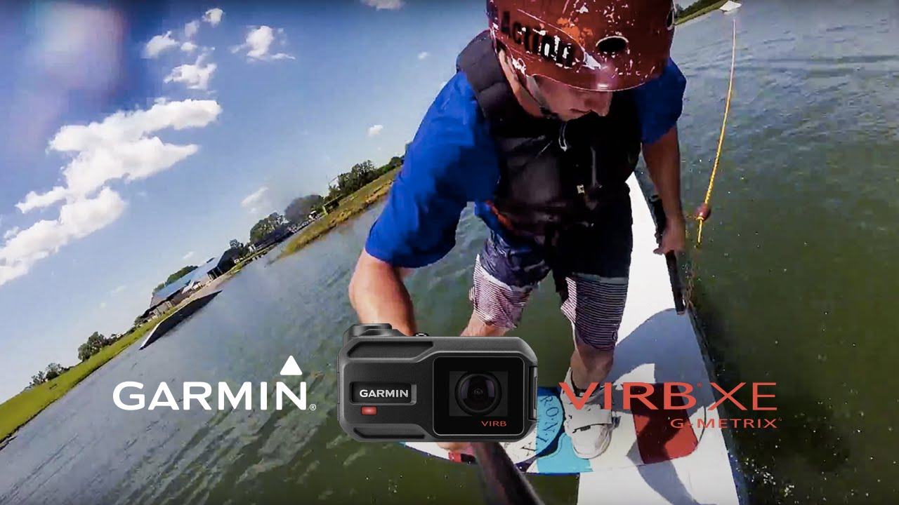 Garmin VIRB XE: Shredding the Wake
