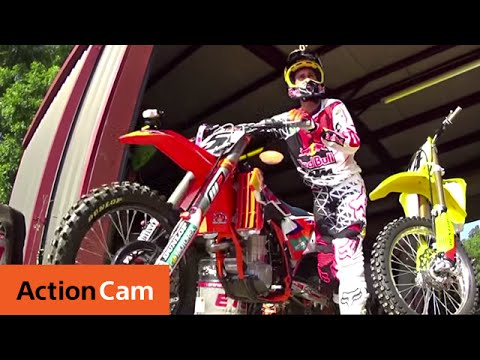 Action Cam | The Chase with Ryan Dungey and Ricky Carmichael |  Sony