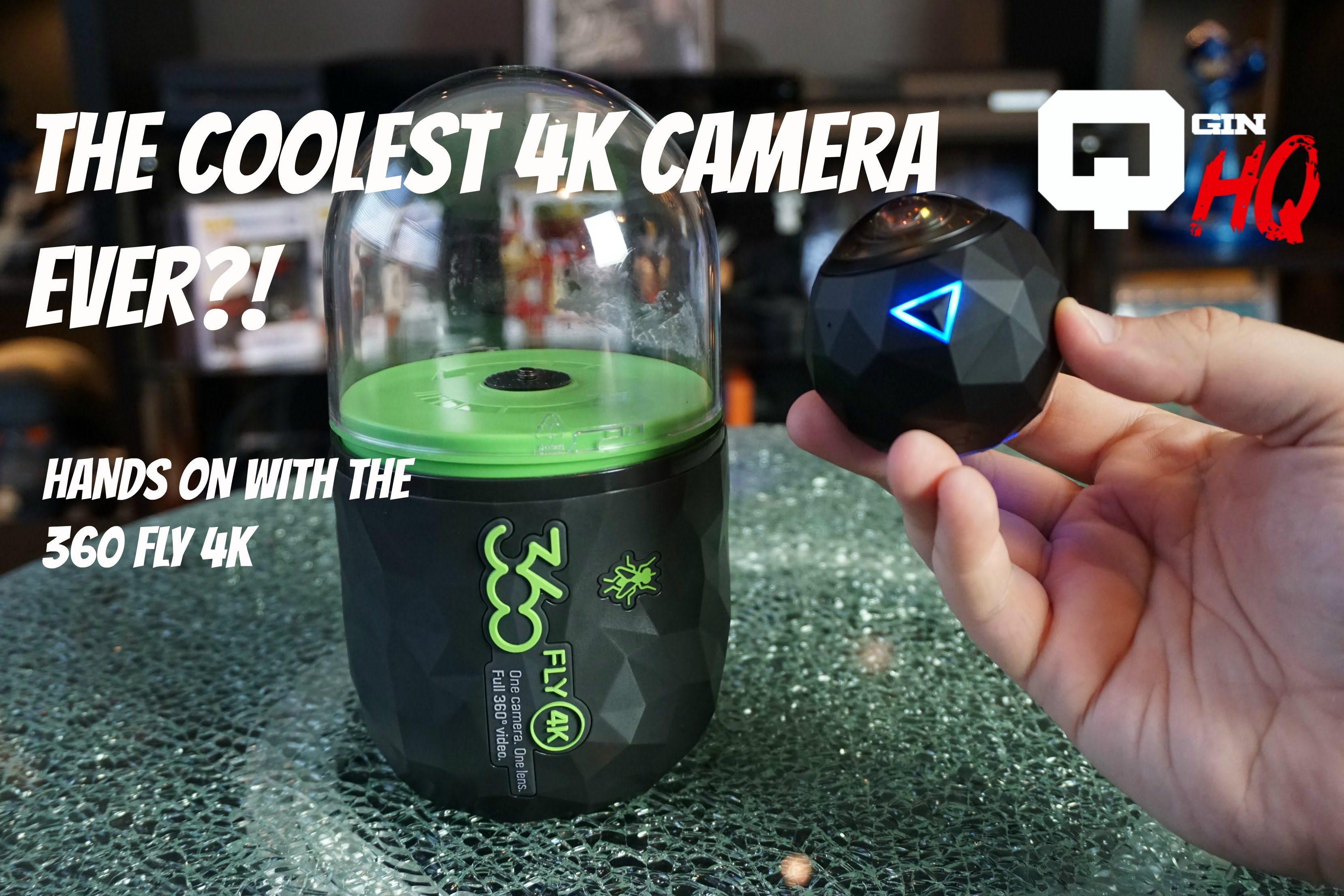 THE COOLEST 4K CAMERA EVER?! 360 Fly 4K Camera Review