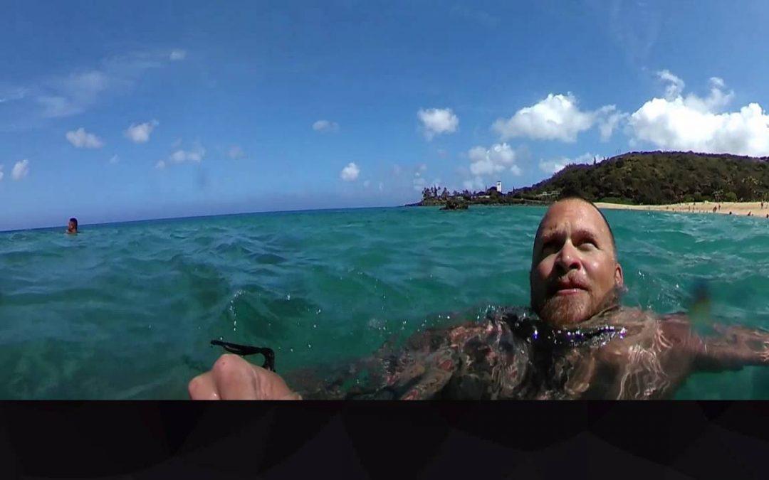 Waimea Bay Cliff Jump – 360Fly 4K First Water Test