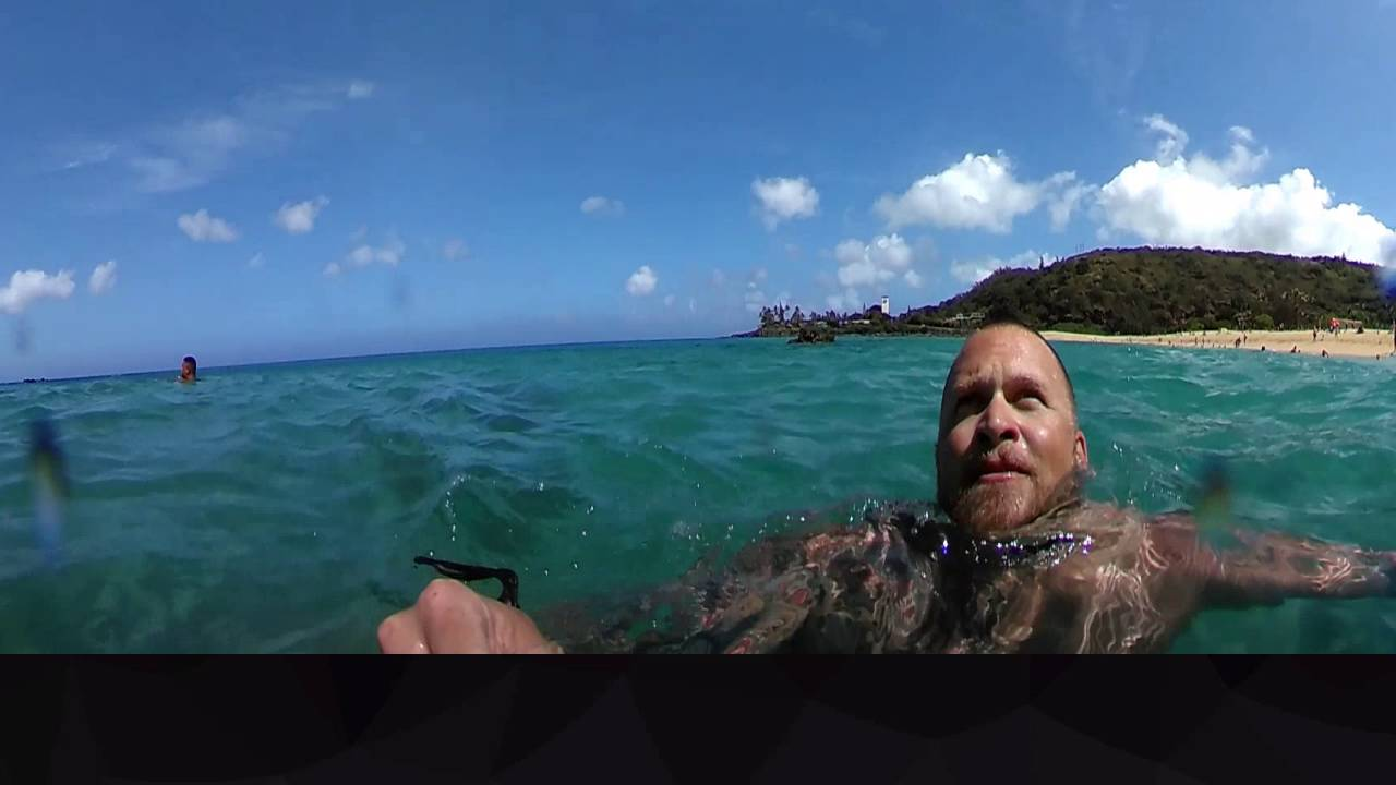 Waimea Bay Cliff Jump – 360Fly 4K First Water Test