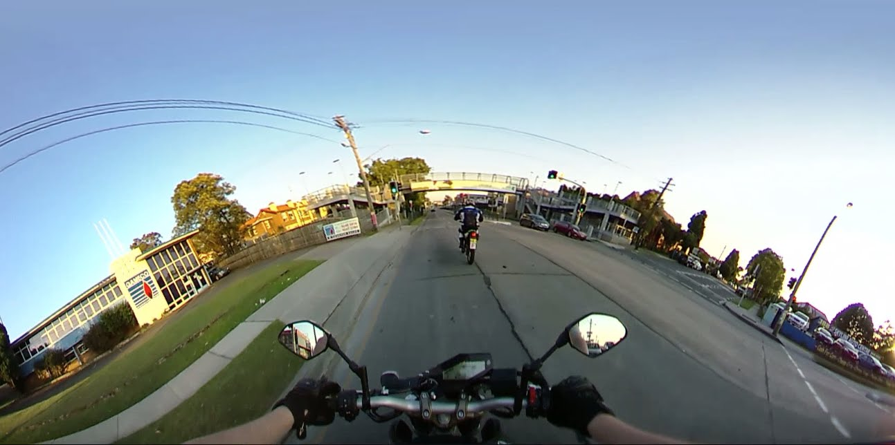 360 Degree Helmet Camera Test Clip 1 of 3 – Chin Mount 360fly