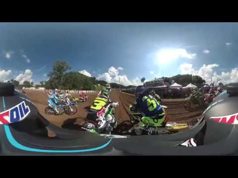 Garmin VIRB 360: Spring Creek Moto with Pro Christian Craig