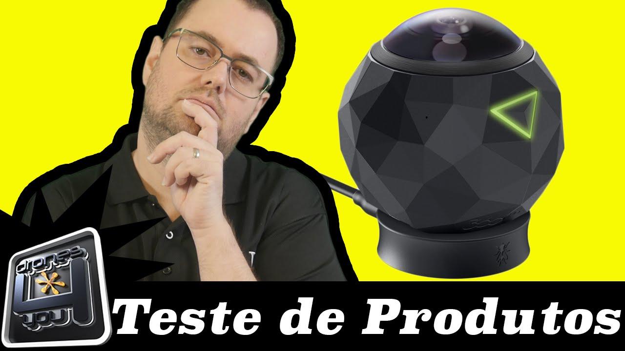 CAMERA 360 FLY TESTE DE PRODUTOS