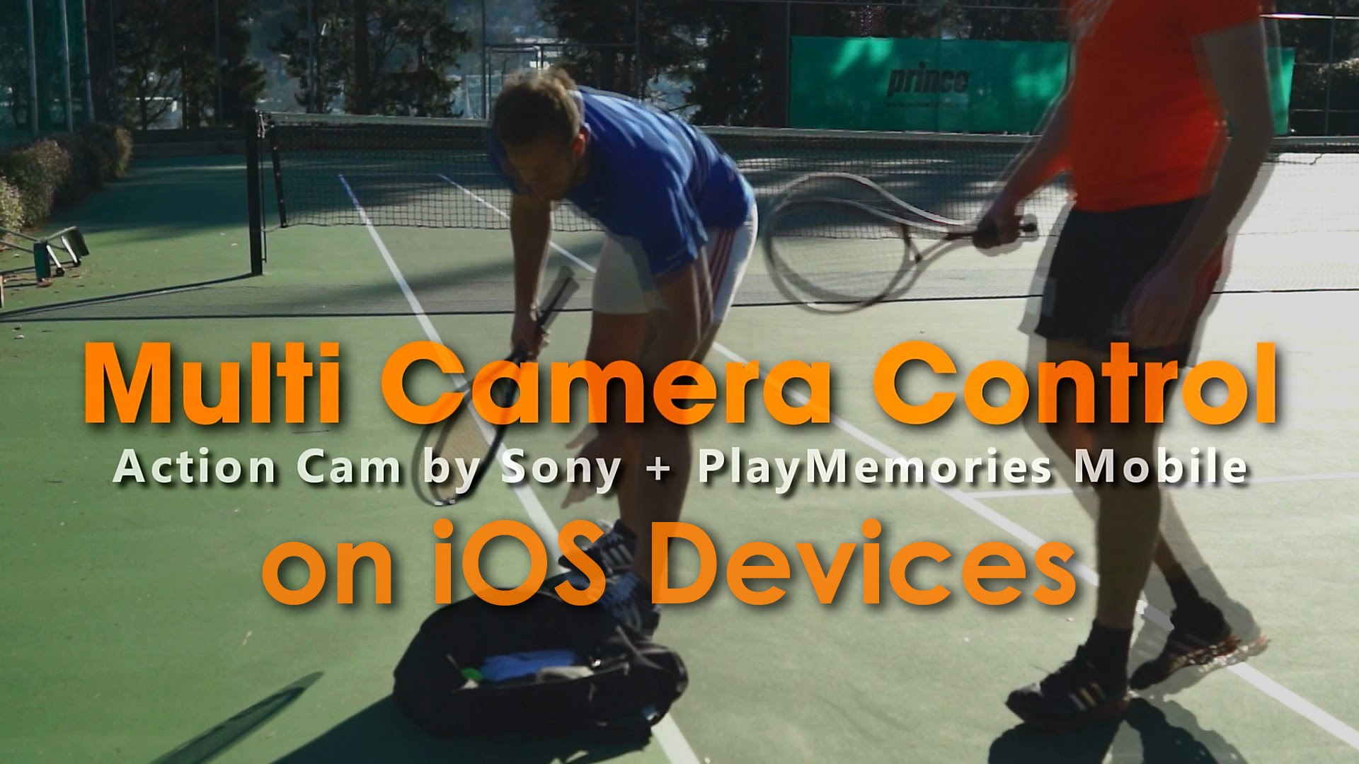 [For iOS] Multi Camera Control by PlayMemories Mobile | Action Cam | Sony