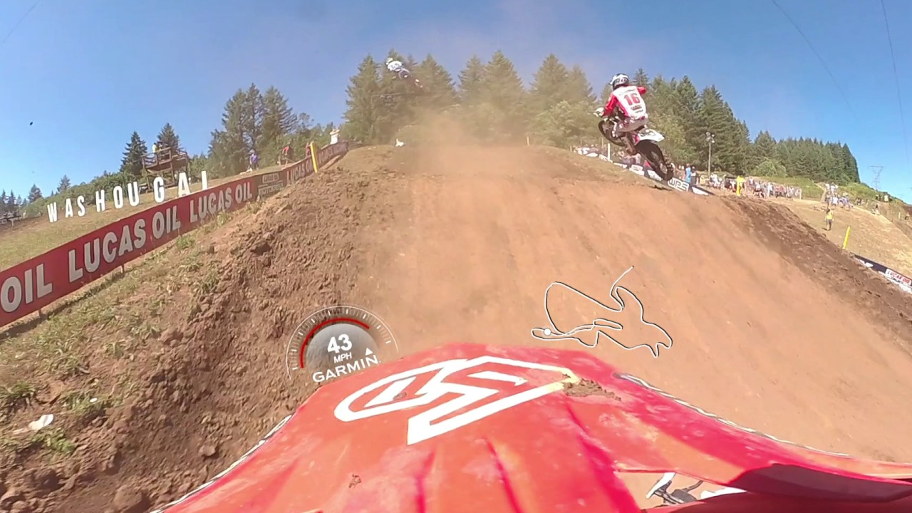 Garmin VIRB 360: Washougal MX Moto with Pro Jeremy Martin