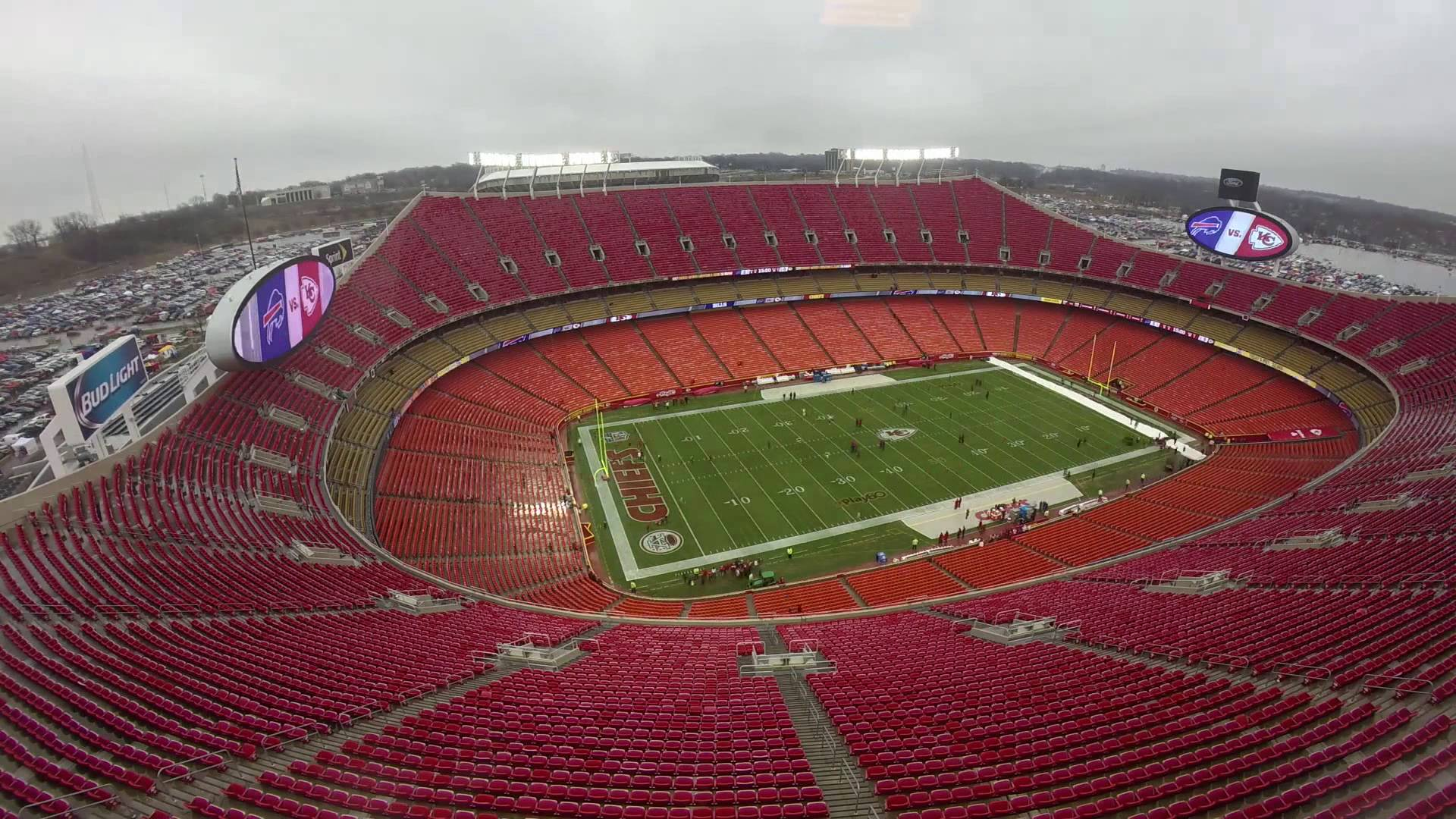 Garmin VIRB XE: Kansas City Chiefs Pre-Game