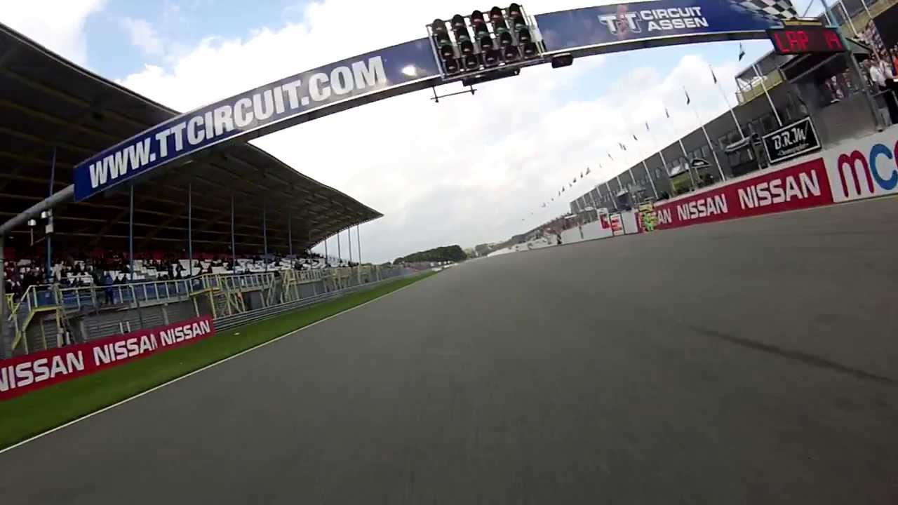 Drift HD Ghost: Byrne and Lowes Superbike Crash