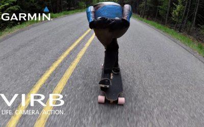 Garmin VIRB: Downhill Skateboarding