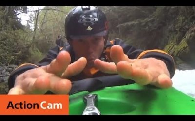 Down The Waterfall (Kayak Demo) | Action Cam | Sony