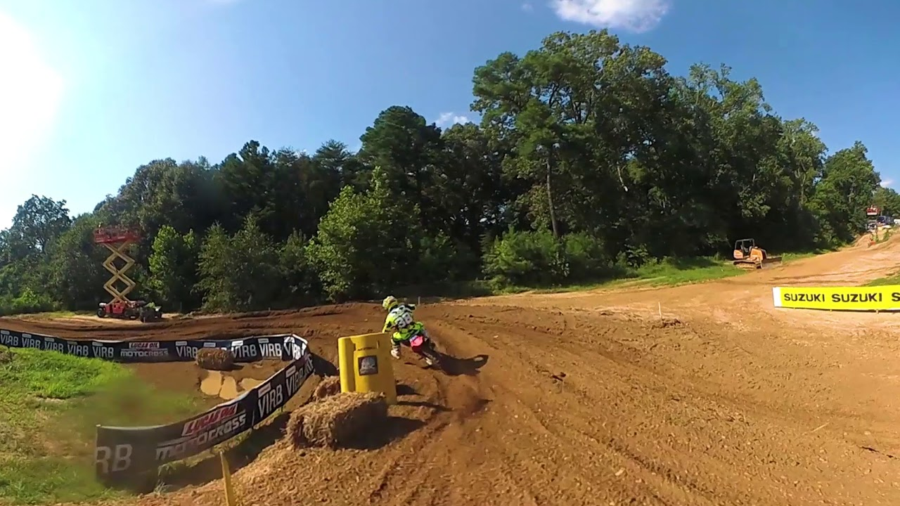 Garmin VIRB 360: Budds Creek 2nd Moto with Jeremy Martin