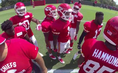 Garmin VIRB Ultra 30: On-The-Field with the Kansas City Chiefs – Episode 3