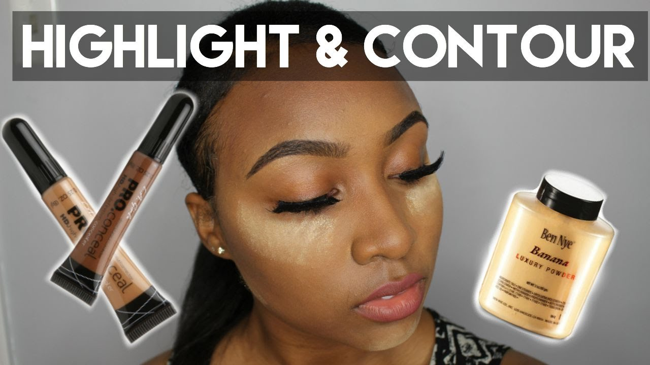 Easy Highlight & Contour Talk Through – Beginner Friendly