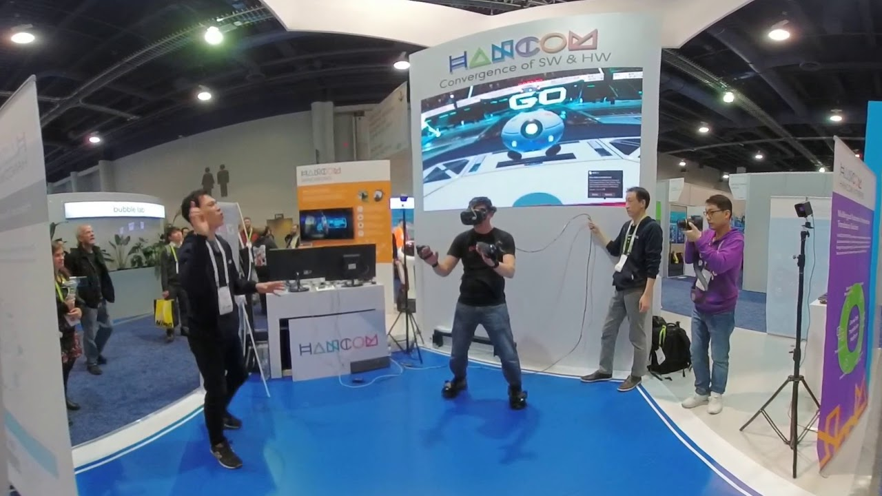 CES 2018 – Virtual Reality Battle