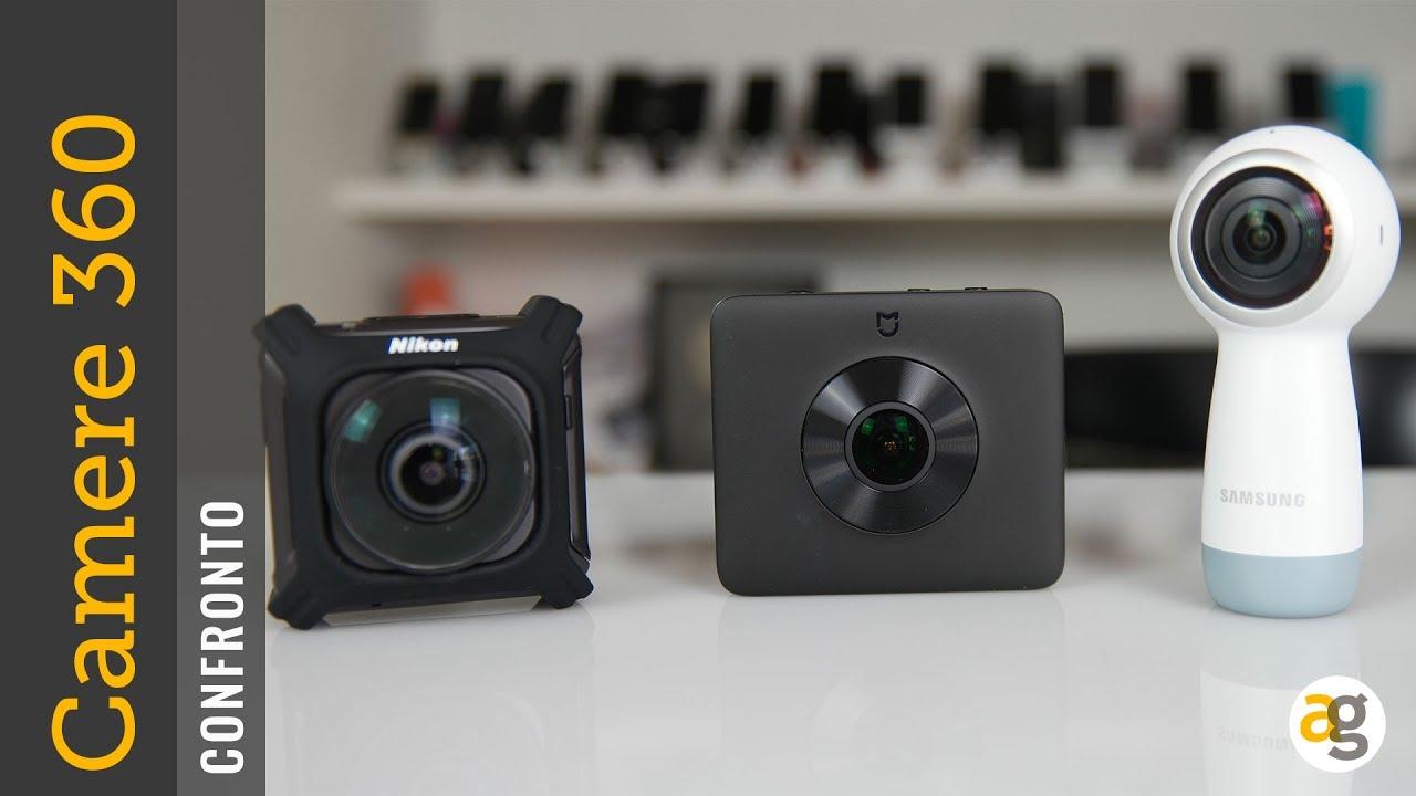 Recensione Samsung Gear NUOVA 360 contro Nikon Key Mission 360 contro Xiaomi Mi 360