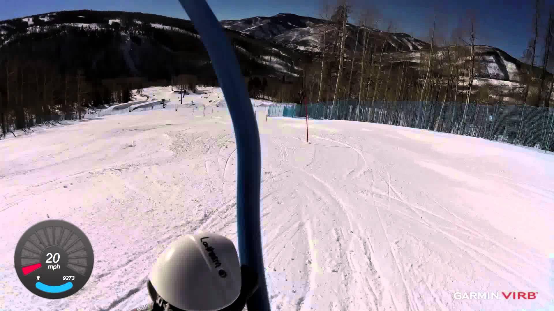 Garmin VIRB: Slalom Skiing