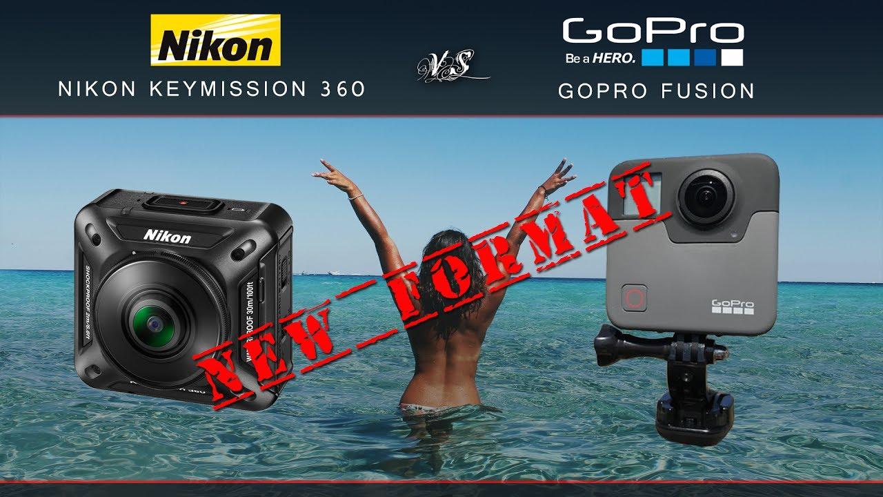 Nikon KeyMission360 vs. GoPro Fusion