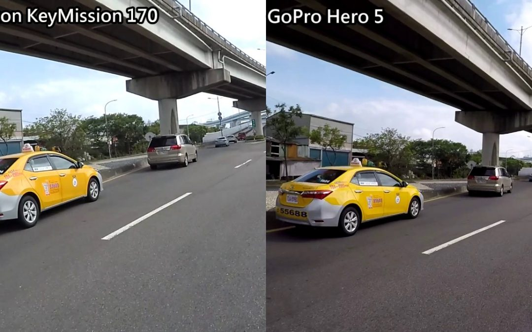 Nikon KeyMission 170 VS GoPro Hero 5
