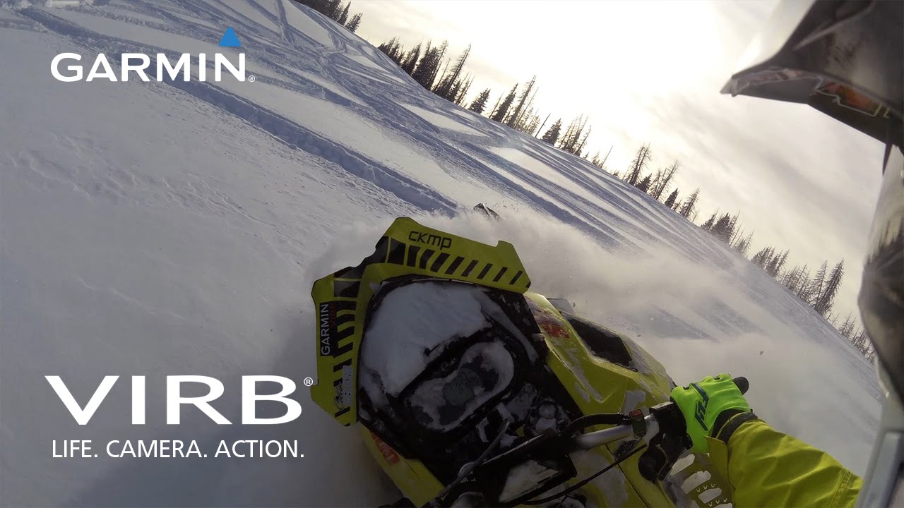 Garmin VIRB: Backcountry Snowmobiling