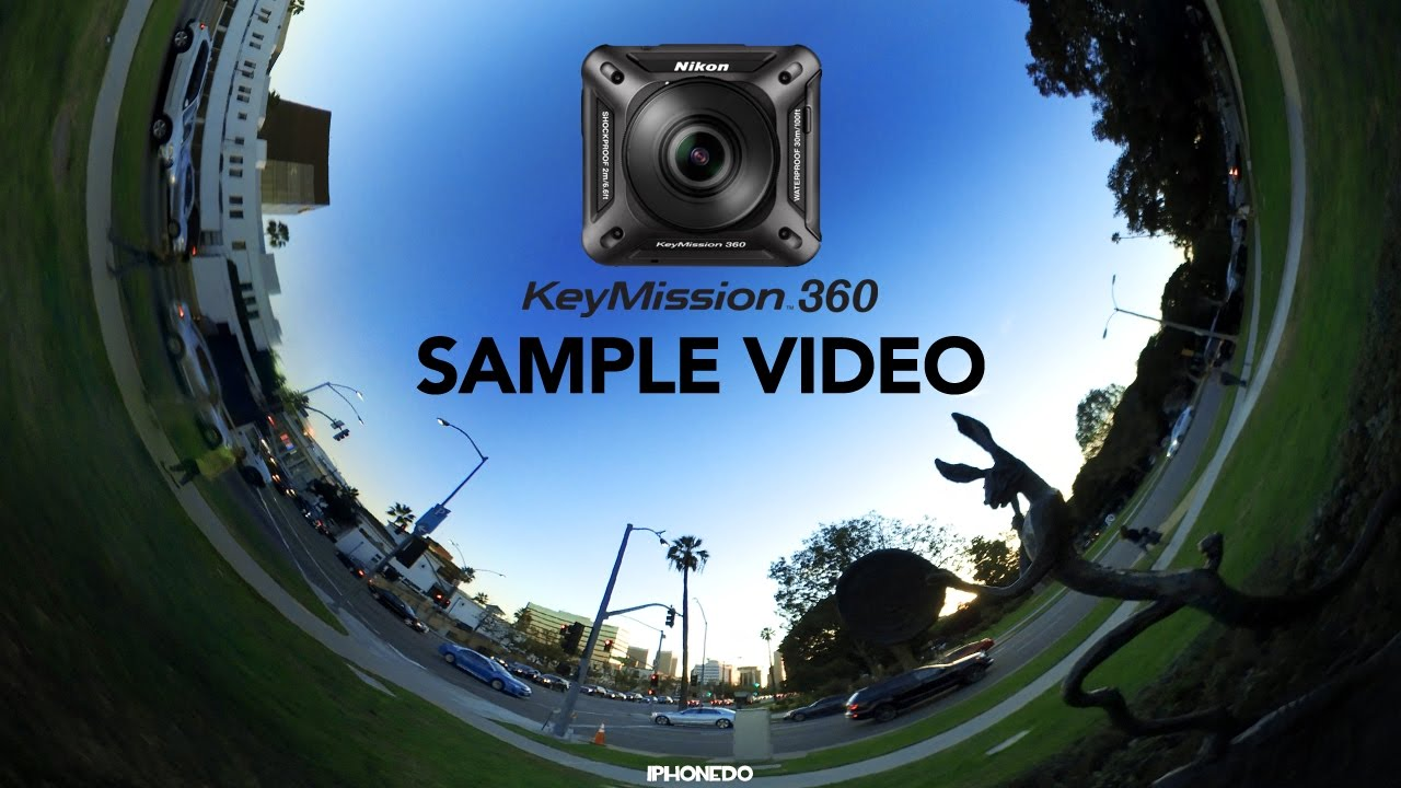 Nikon KeyMission 360 — Sample Video