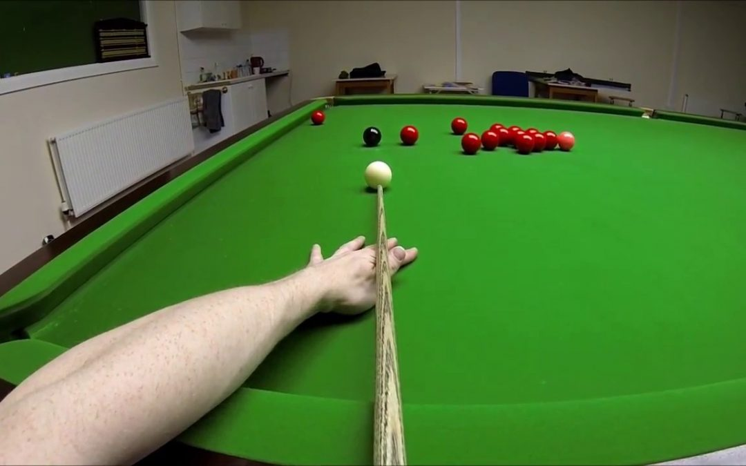 Snooker Headcam 147 Maximum Break (POV) – John Foster