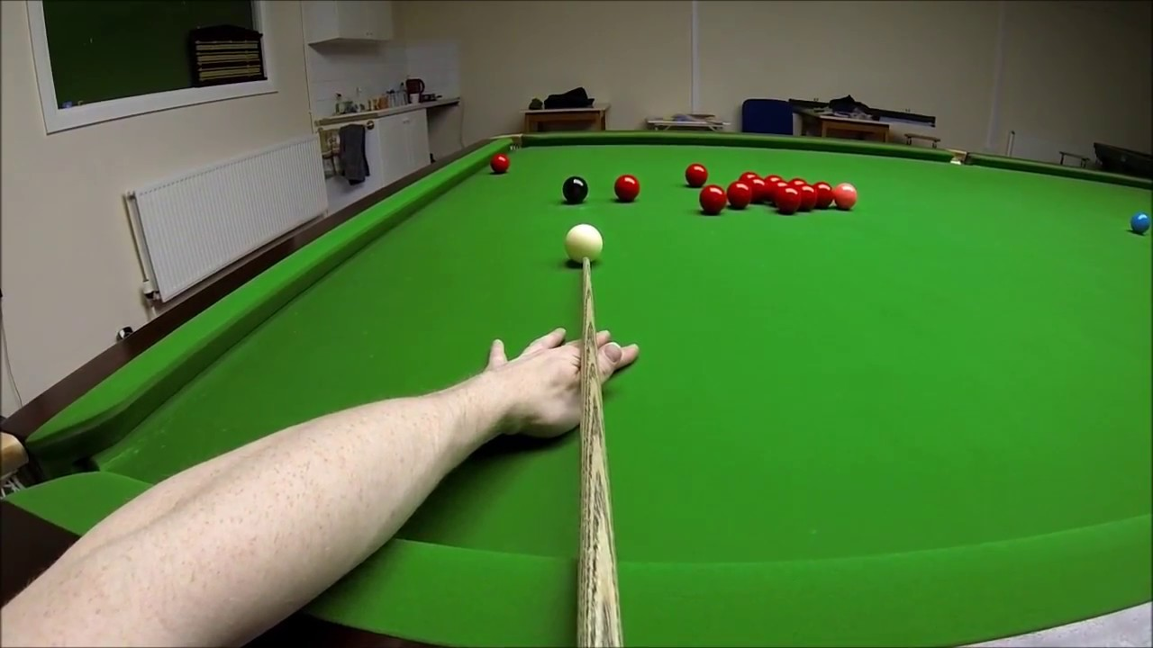 Snooker Headcam 147 Maximum Break (POV) – John Foster