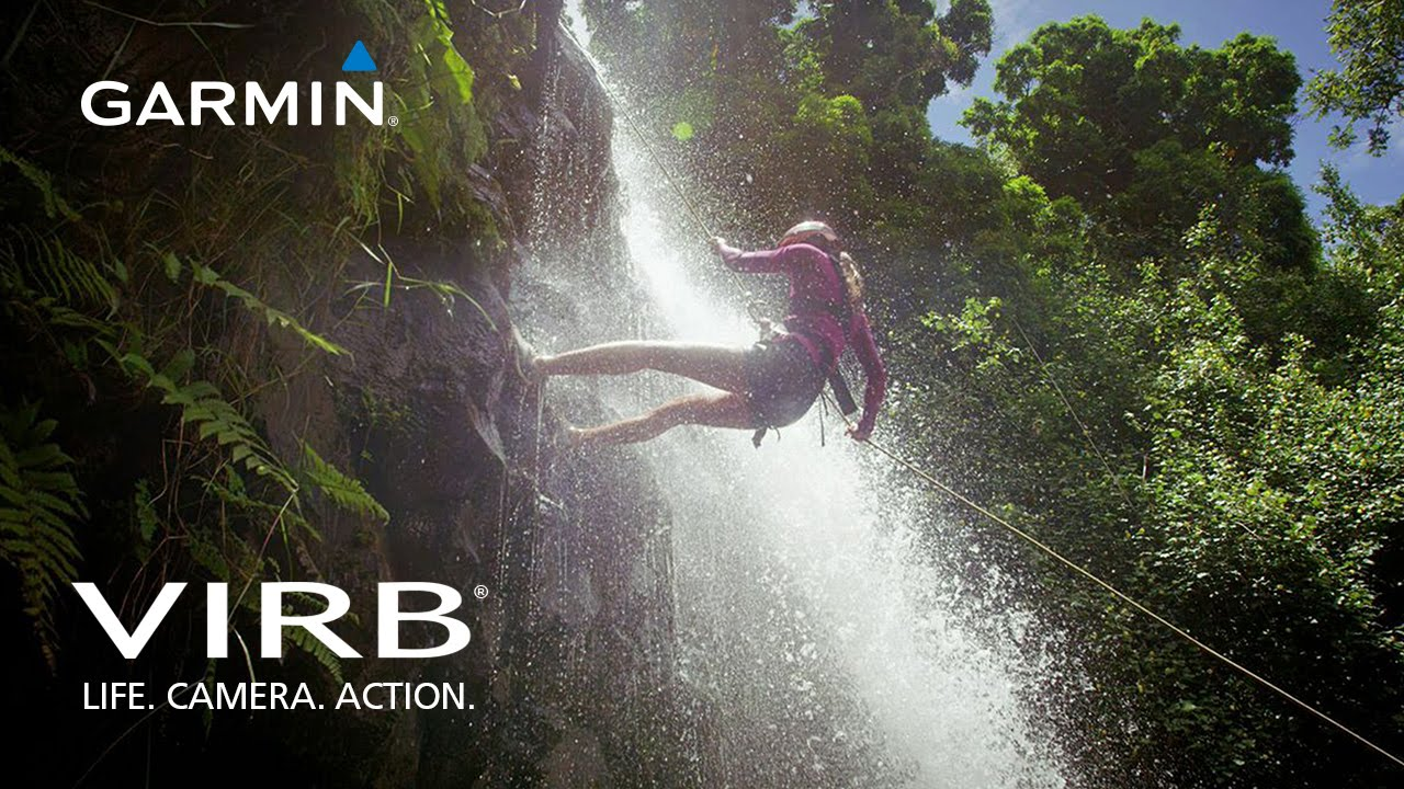 Garmin VIRB: Finalist Chelsea Rappels in Hawaii