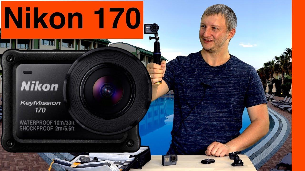 Nikon KeyMission 170 // Интересная Экшн-Камера от Никон