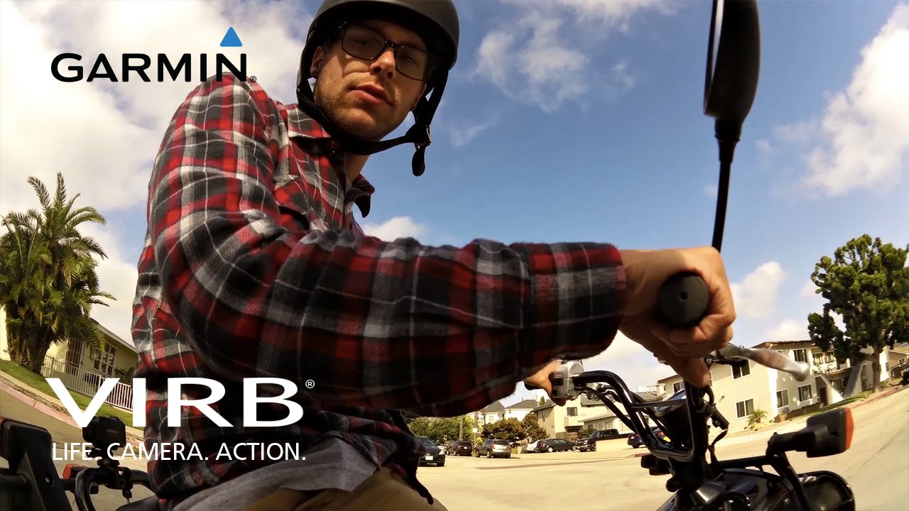 Garmin VIRB: Scooters in San Diego